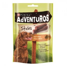 Snacks Purina Adventuros Sticks sabor a Búfalo