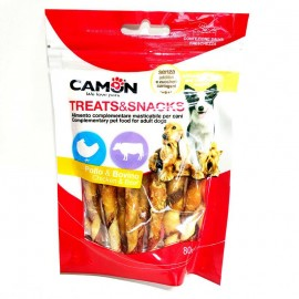 Snacks Camon de pollo y vaca 80 g