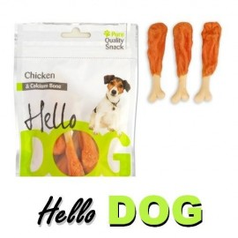 Hello Dog Huesitos de calcio con pollo 80 g