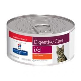 Hills Prescription Diet Feline I/D Gastrointestinal lata 156 g
