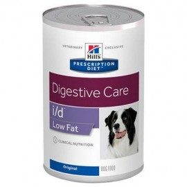 Hills Prescription Diet I/D Canine Low Fat lata 360 g