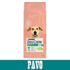 Dog Chow Adulto Light con pavo