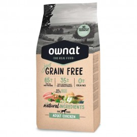 Ownat Just Grain Free Adulto pollo frontal