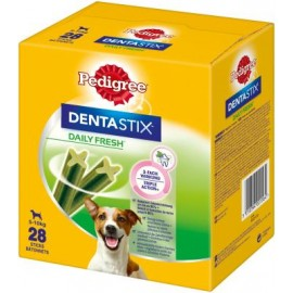 Limpiador Dental Pedigree Dentastix Fresh 5-10 kg caja 28 sticks
