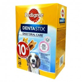 Limpiador Dental Pedigree Dentastix 10-25 kg caja 28 sticks