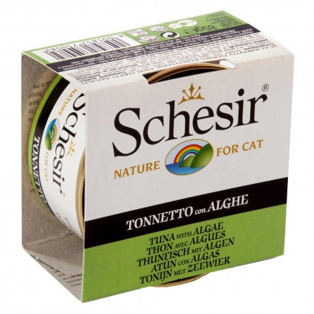 Lata Schesir Nature Cat Kitten Atún con Algas 85 g