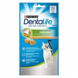 Snacks DentaLife gato Daily Oral Care Treats de pollo 40 g