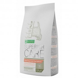 Superior Care White Dogs Small & Mini Grain Free Salmón