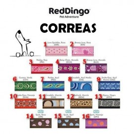 Correa Red Dingo Style S 12x1200 mm