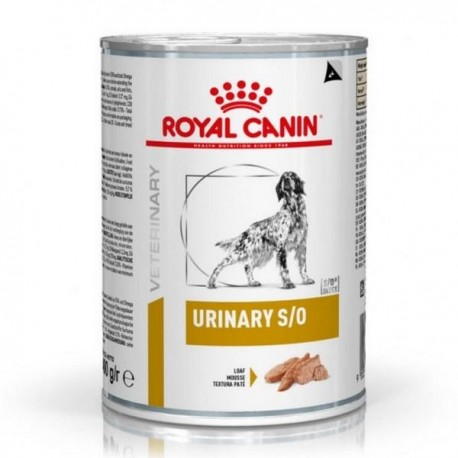 Royal Canin Canine Urinary S/O lata 410 g