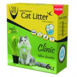 Arena gatos Van Cat Litter Super Premium 6 litros
