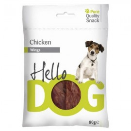 Hello Dog Alitas de pollo 80 g