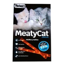 Snacks gato Twinky MeatyCat Sticks de pavo 3x3 g