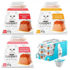 Purina Gourmet Revelations Mousse 4x57 g