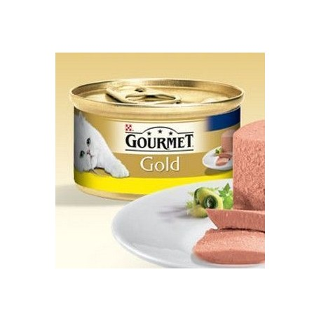 Mousse Purina Gourmet Gold con Pollo 85 g