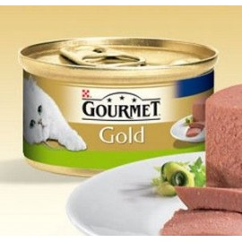 Mousse Purina Gourmet Gold con Conejo 85 g