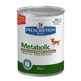 Hills Prescription Diet Metabolic Canine lata 370 g