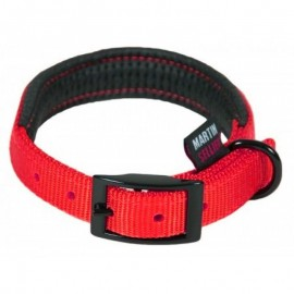 Collar Nylon Martín Sellier Confort 20x450 mm rojo