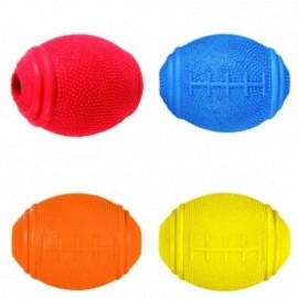 Juguete Pelota de Rugby Dog Activity Snacks 8 cm varios colores