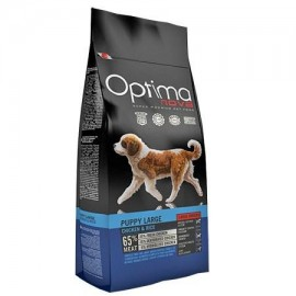 Optima Nova Puppy Large con pollo y arroz