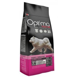 Optima Nova Puppy Sensitive Grain Free con salmón y patatas