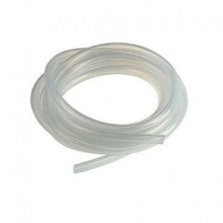 Tubo Flexible Silicona 4x6 mm rollo 5 metros