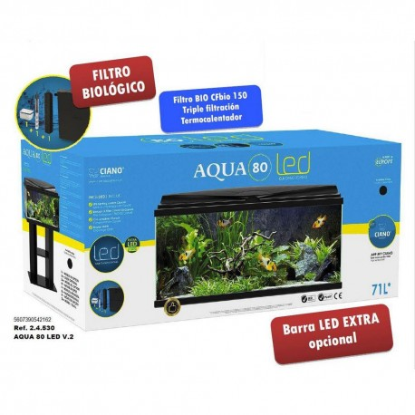 Acuario Aqua 80 Light