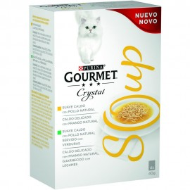 Gourmet Crystal Sopa de pollo natural 40 g